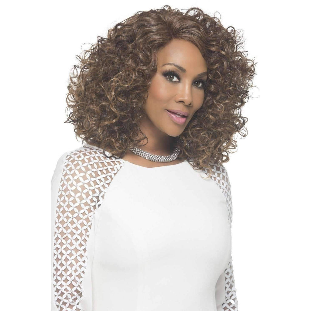 Vivian |  Synthetic Wig (Lace Front Traditional Wig) - African American Wigs