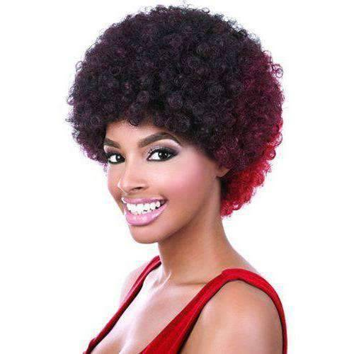 Afro Wig - Synthetic Wig Short | Motown Tress | African American Wigs - African American Wigs