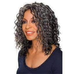 Cedella | Heat Friendly Synthetic Wig (Traditional Cap) - African American Wigs Medium Length Wigs