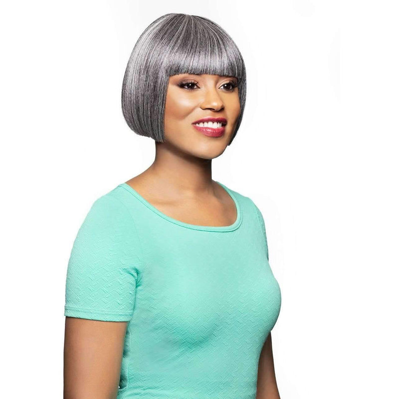 Elisa | Short Heat Friendly Synthetic Wig (Traditional Cap) - African American Wigs