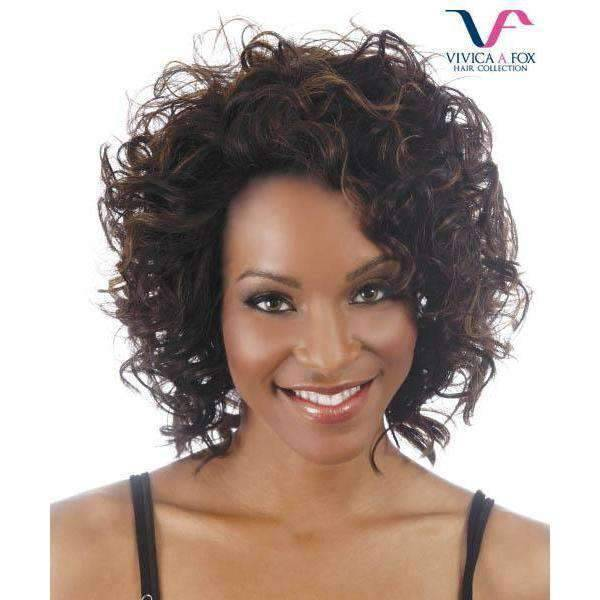 Flirt - Vivica Fox Lace Front Synthetic Wig - African American Wigs