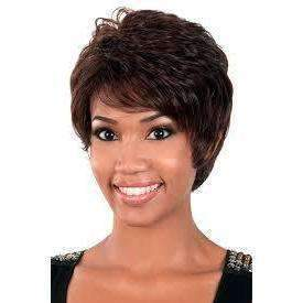 GG-94 - Motown Tress Synthetic Straight Hair Full Wig #4 - African American Wigs
