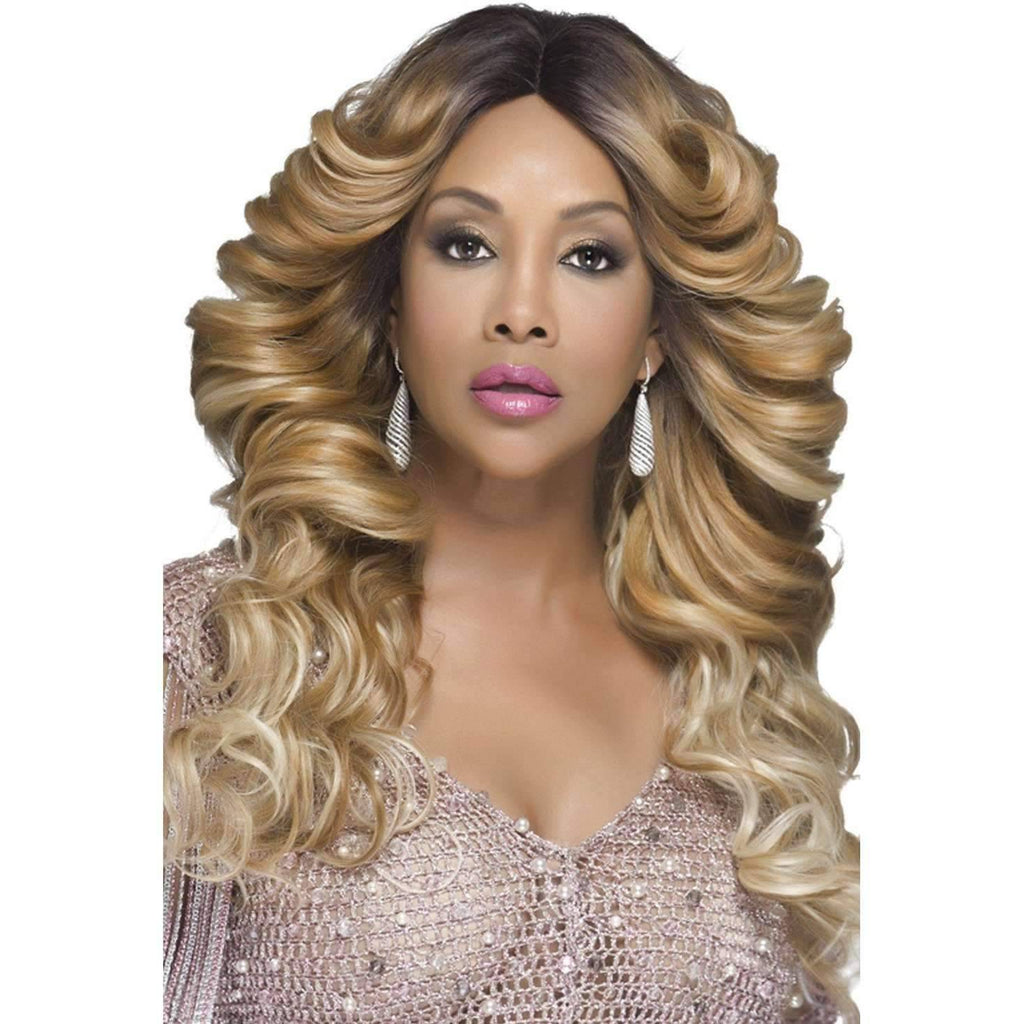 GLAM | Heat Friendly Synthetic Wig (Lace Front Traditional Cap) - African American Wigs
