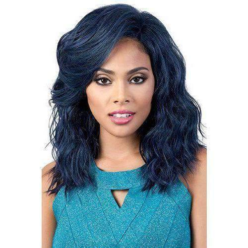 HBLDP.Fia - Long Length Wavy Human Hair Blend Wig | Motown Tress | African American Wigs - African American Wigs