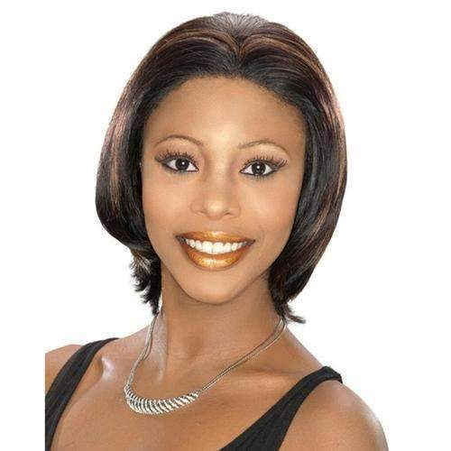H/H SIGOURNEY - Carefree Human Hair Wig in Color #4 - African American Wigs