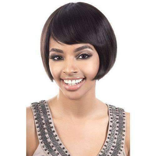 HIR-Bliss - Short Length Straight Human Hair Wig | Motown Tress | African American Wigs - African American Wigs