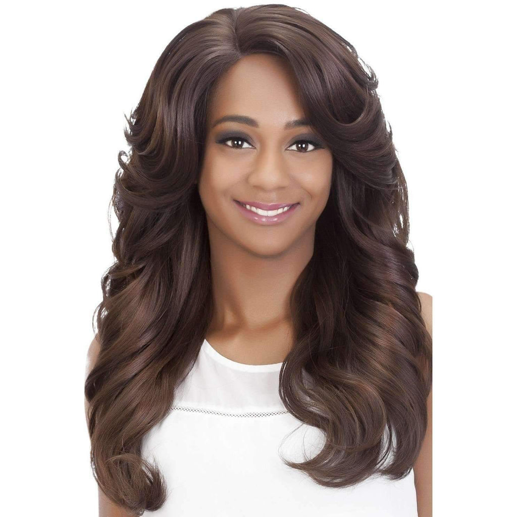 HONEY | Heat Friendly Synthetic Wig (Lace Front Traditional Cap) - African American Wigs