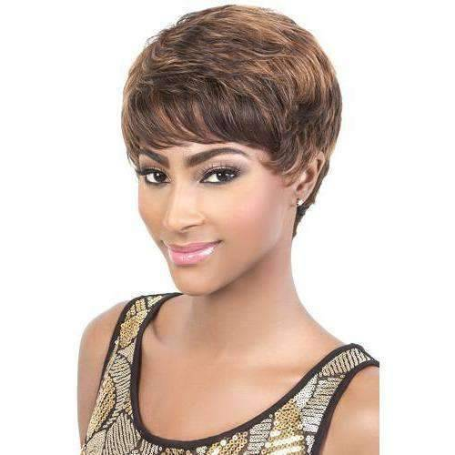 HR. ALINA | Remy Human Hair Wig (Traditional Cap) - African American Wigs