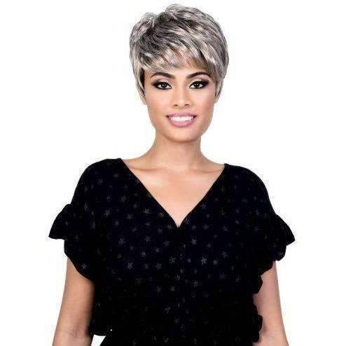 Jackie - Short Length Curly High Quality Synthetic Wig | Motown Tress - African American Wigs