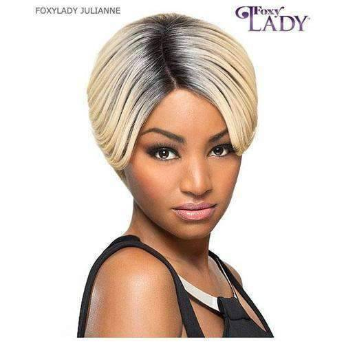 JULLIANNE - Foxy Lady Synthetic Wig in Color #RT1B4326 - African American Wigs