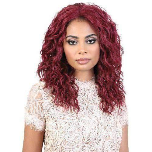 L. DOLLY - Long Length Curly High Quality Synthetic Wig| Motown Tress - African American Wigs