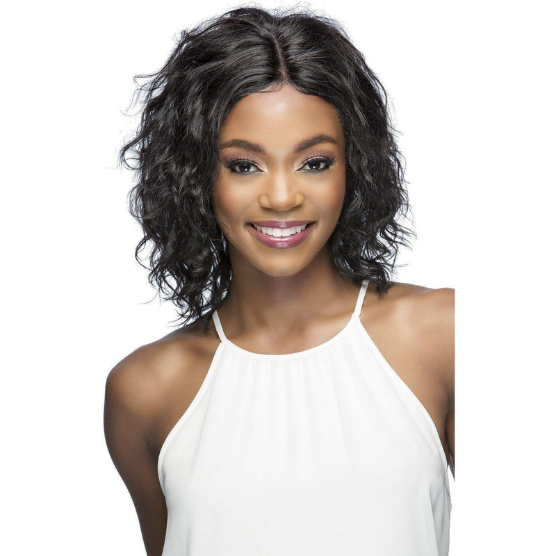 remi human hair Medium Length Wigs