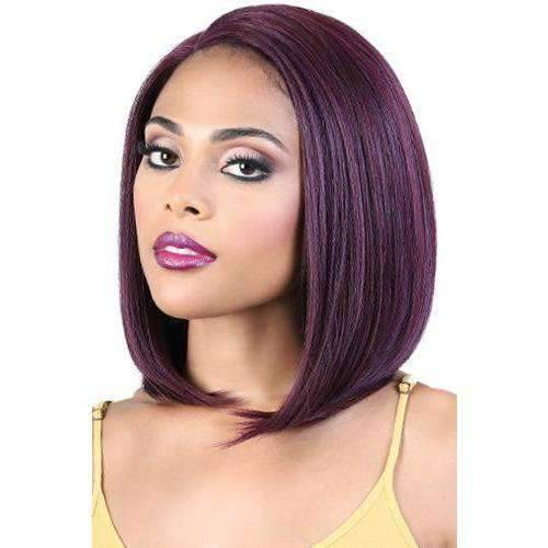 LDP-CURVE1 - Medium Length Straight High Quality Synthetic Wig| Motown Tress - African American Wigs