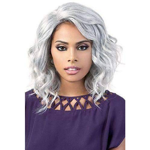 LDP-Dema - Medium Length Curly Synthetic Wig | Motown Tress - African American Wigs