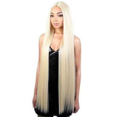 LDP-FINE40 - Extra Long Length Straight High Quality Synthetic Wigs | Motown Tress - African American Wigs