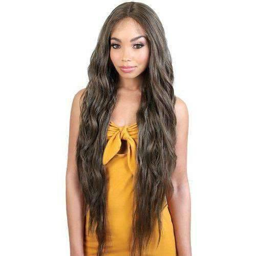LDP-Spin70 - Extra Long Length Wavy Synthetic Wig | Motown Tress - African American Wigs