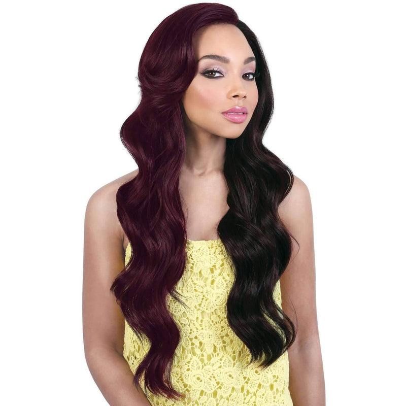 LDP-TASHA - Extra Long Length Wavy High Quality Synthetic Wig | Motown Tress - African American Wigs