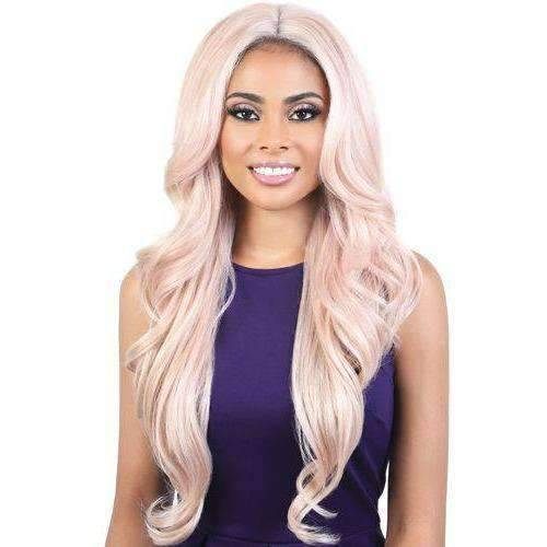 LDP-TRUDY - Extra Long Length Curly High Quality Synthetic Wig | Motown Tress - African American Wigs