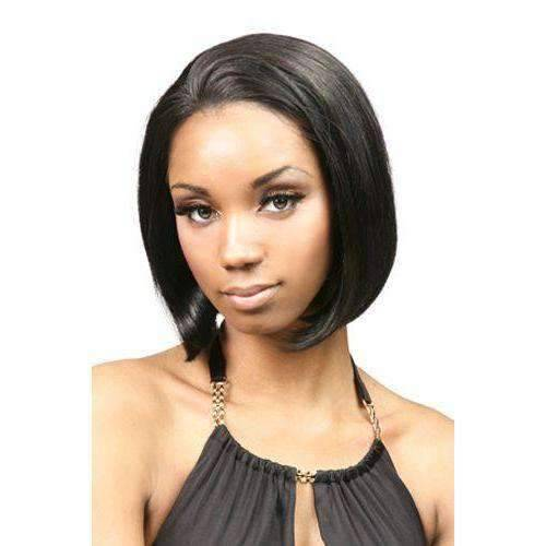LFHH-Abby-Motown Tress 100% Human Hair Wig Short in Color #4 - African American Wigs