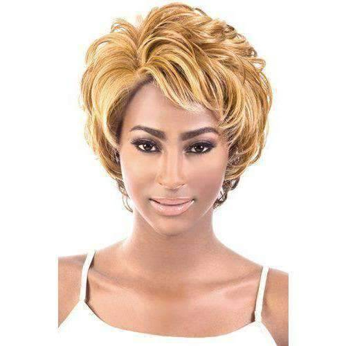 LSDP-Dess - Long Length Wavy Synthetic Wig | Motown Tress - African American Wigs