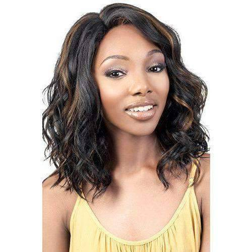 LSDP-Nico - Medium Length Wavy Synthetic Wig | Motown Tress - African American Wigs