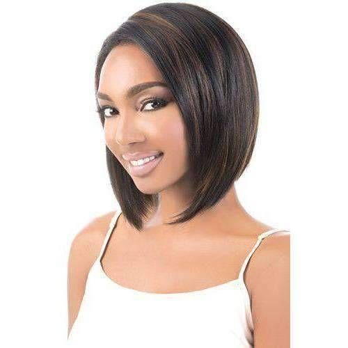 LSDP-OLAY | Heat Friendly Synthetic Wig (Lace Front Traditional Cap) -Medium Length Wigs