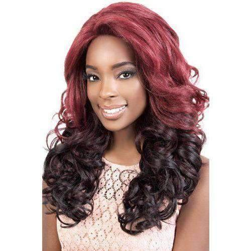 LXP. Beth - Long Length Curly Synthetic Wig | Motown Tress - African American Wigs