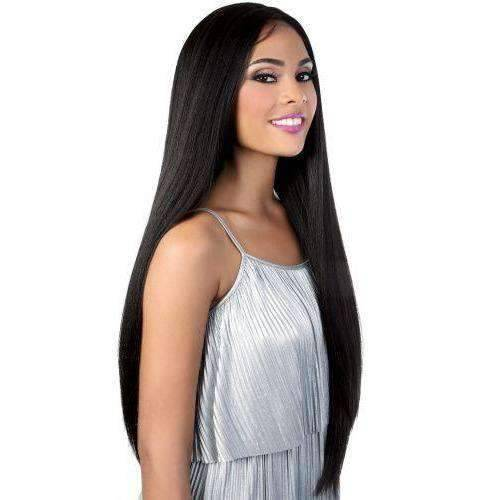 LZ.Lisa35 - Extra Long Length Straight High Quality Synthetic Wig | Motown Tress - African American Wigs
