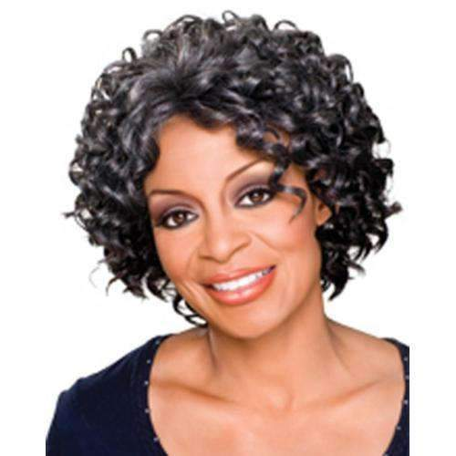 MEREDETH - Foxy Silver Synthetic Wig in Color #4 - African American Wigs