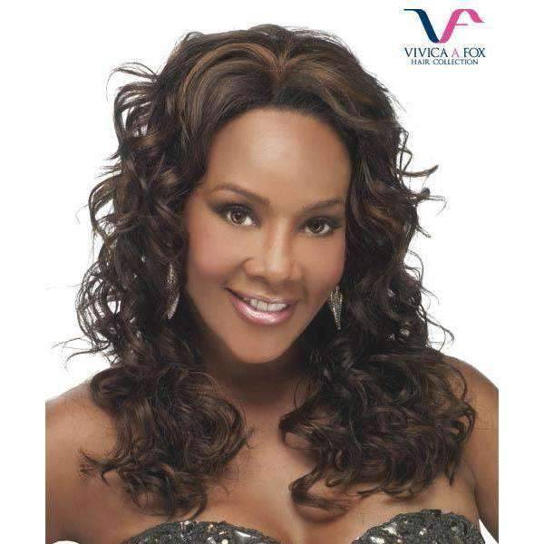 ML - Juno - Vivica Fox Lace Front Synthetic Wig in Color #FS4/30 - African American Wigs
