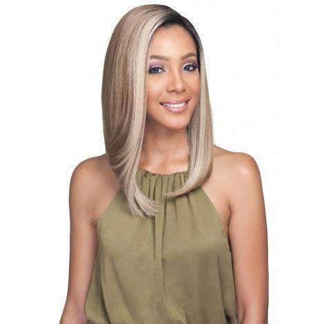 MLF362 Amiyah Deep Part Lace Front Synthetic Wig |  Bobbi Boss Wig - African American Wigs