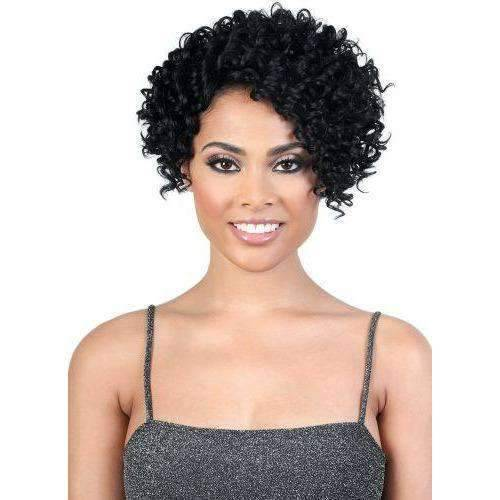 YEMI - Short Length Curly High Quality Synthetic Wigs| Motown Tress - African American Wigs