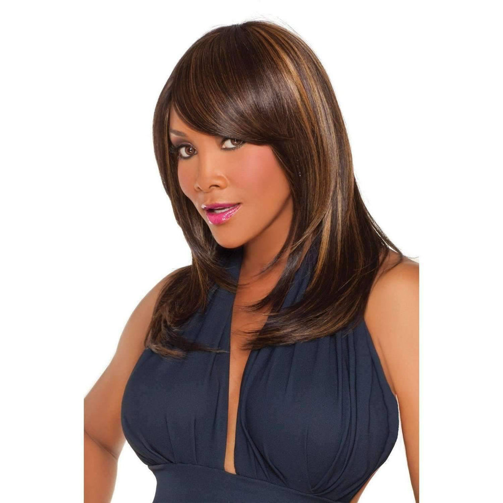 WP-LINDSAY | Heat Resistant Synthetic Wig (Weave/Traditional Cap) - African American Wigs