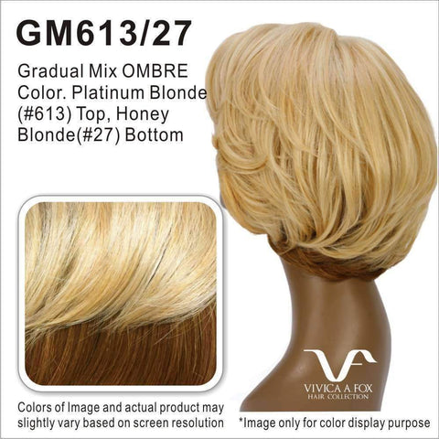 WP-LIZZY-V | Heat Resistant Synthetic Wig (Weave/Traditional Cap) Color 1B - African American Wigs