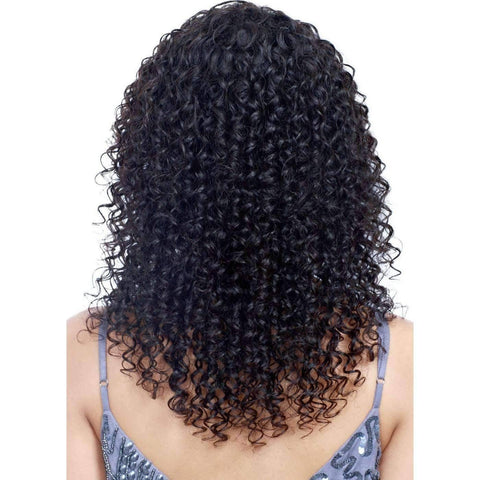 Image of Yanet | Long Curly 100% Human Hair Wig  |  Bobbi Boss Wig - African American Wigs