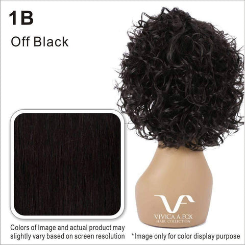 Image of YBCB-V - Vivica Fox Synthetic Wig in Color #1B - African American Wigs