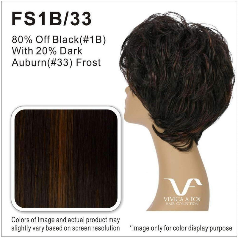 YEVA | Heat Resistant Synthetic Wig (Traditional Cap) - African American Wigs