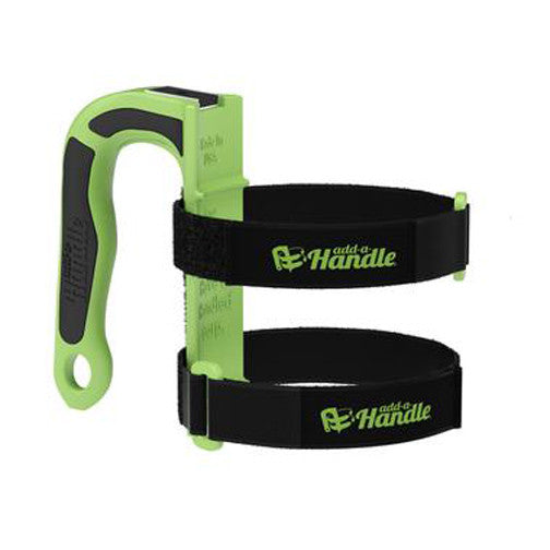 Add-a-Handle carries, hooks, and holds items up to 30lbs. Great gift idea!