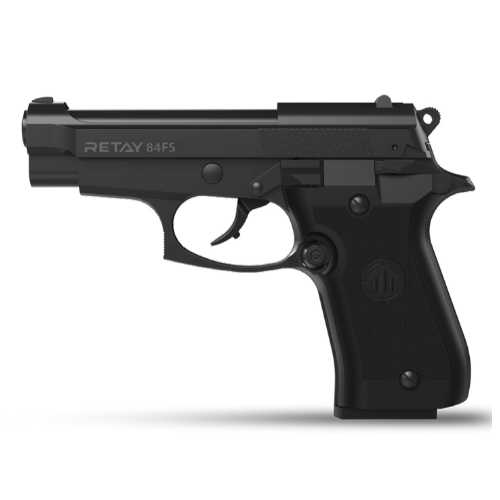 Retay Blank Gun - 84FS Black 9mm