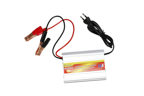 Universal 12V Battery Charger 10A  |  Charges 50AH- 120AH Battery (MA-1210A) - Security and More