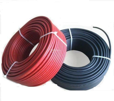 100m ROLL SOLAR WIRE 6mm | SOLAR PV WIRE (RED & BLACK AVAILABLE)