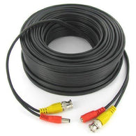 10m Black Camera Cable-Power & Video - Security and More