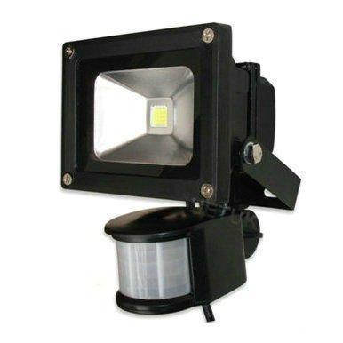 10W LED Floodlight With Sensor | 90% Energy Saving | 10 Watt - Security and More