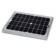 10W SOLAR PANEL | MONOCRYSTALLINE | 255 X 350 X 17MM - Security and More