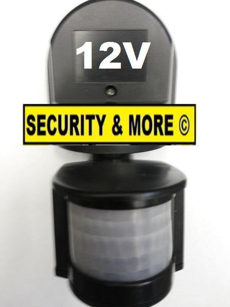 12 Volt Motion Sensor - Infrared Sensor for outdoor lighting - Security and More