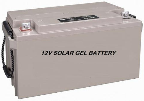 12V 100Ah GEL BATTERY | PERFECT FOR SOLAR USE | NON-SPILLABLE - Security and More