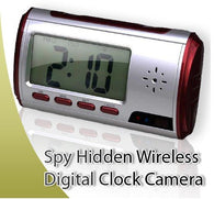 HIDDEN CAMERA CLOCK -MOTION DETECTION/PICTURE TAKING/ AUDIO RECORDING