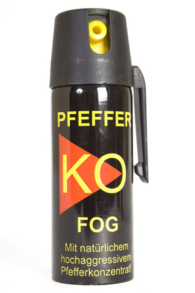 KO Pepper Spray 50ml -Available in Jet or Fog Spray