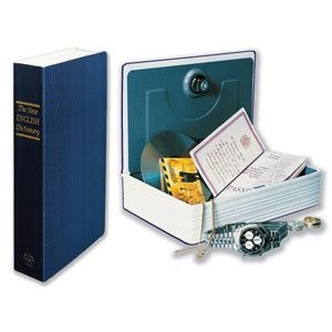 Small BOOK SAFE - HIDE VALUABLES ! 180 X 115 X 55mm