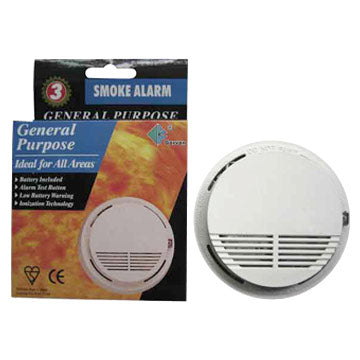 Wireless Smoke Alarm - Stop Fires Before They Happen - A Must Have For Every Home